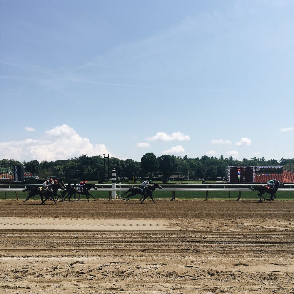 A day at the Saratoga Racetrack