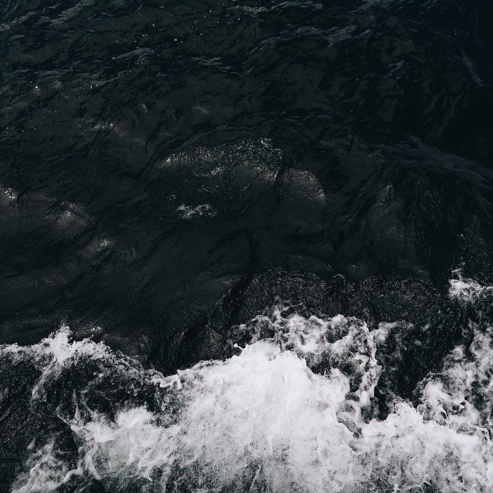 deep lake waters