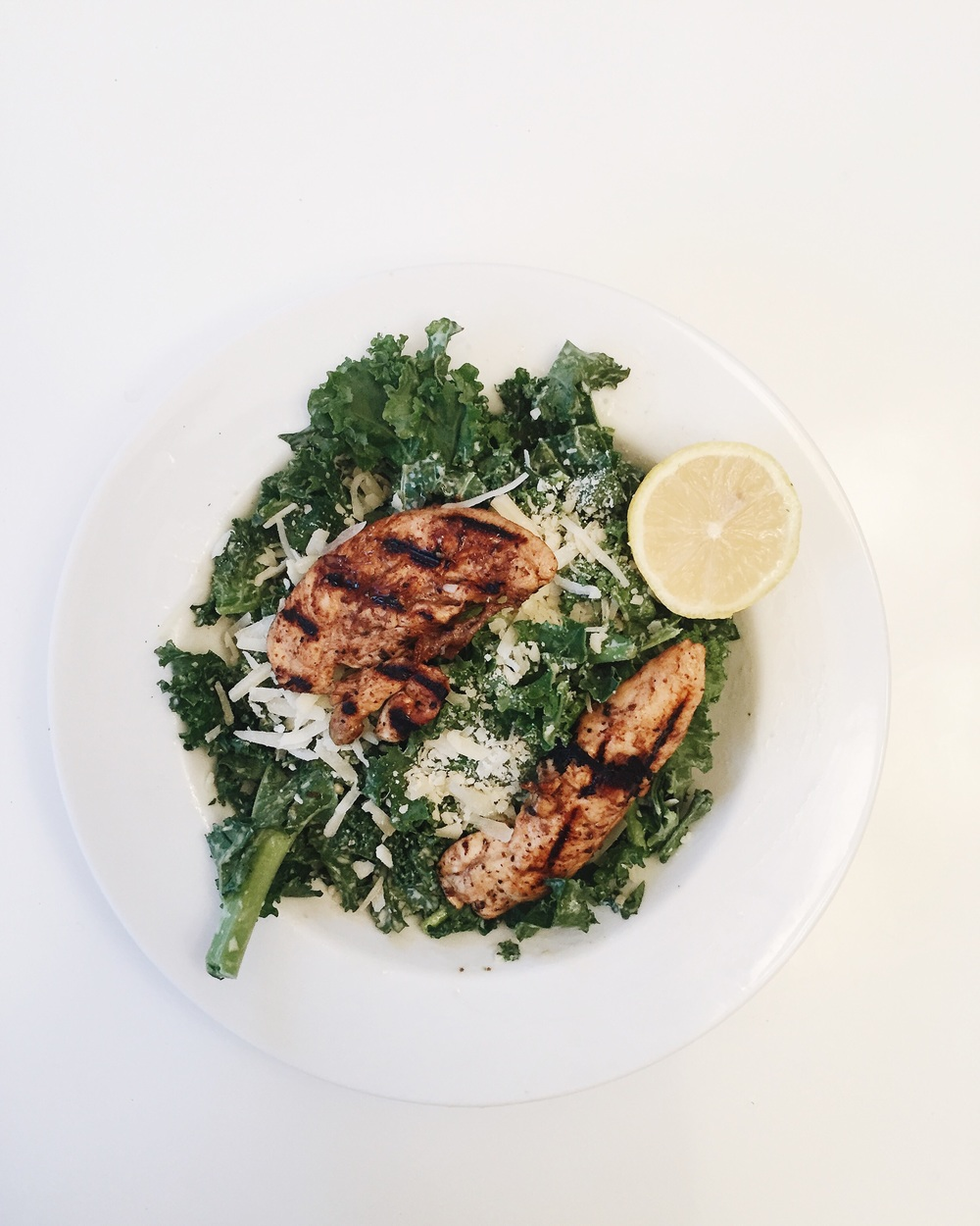 Kale Caesar at Home to Start the Weekend