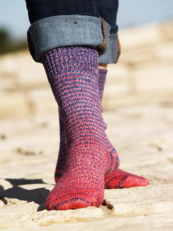Gradient Stripes Matching Sock Sets