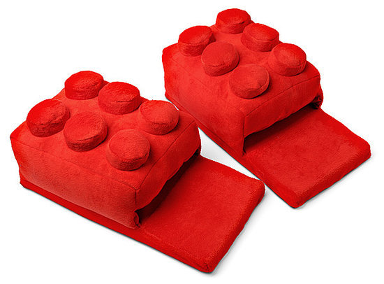 Lego Block Slippers