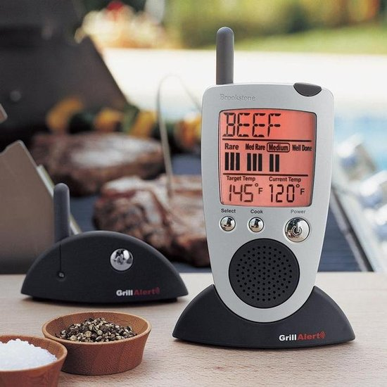 Talking Thermometer for Grilling