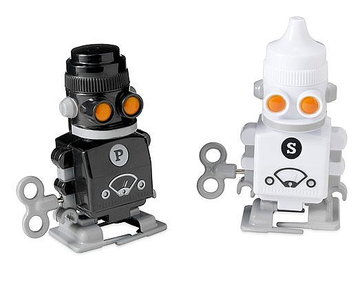 Robotic Salt and Pepper Shakers