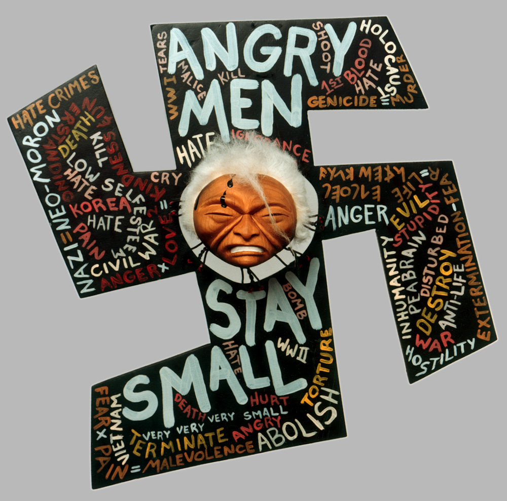 Angry Men Stay Small