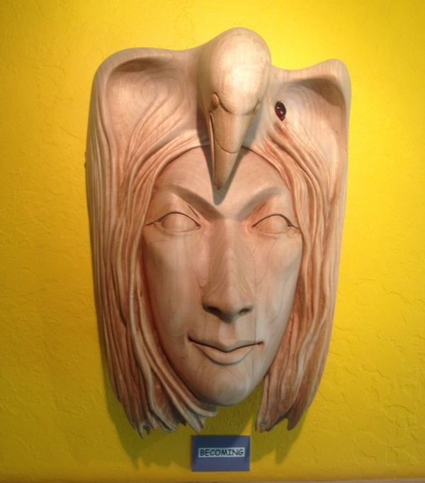 Sculptured Masks for Decor