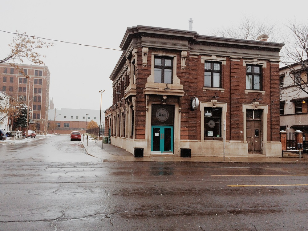 541 Eatery & Exchange is located at 541 Barton Street East in downtown Hamilton.