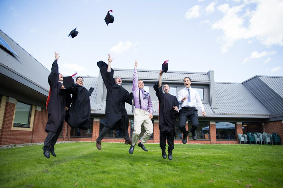 Redeemer Grads Leaping For Joy