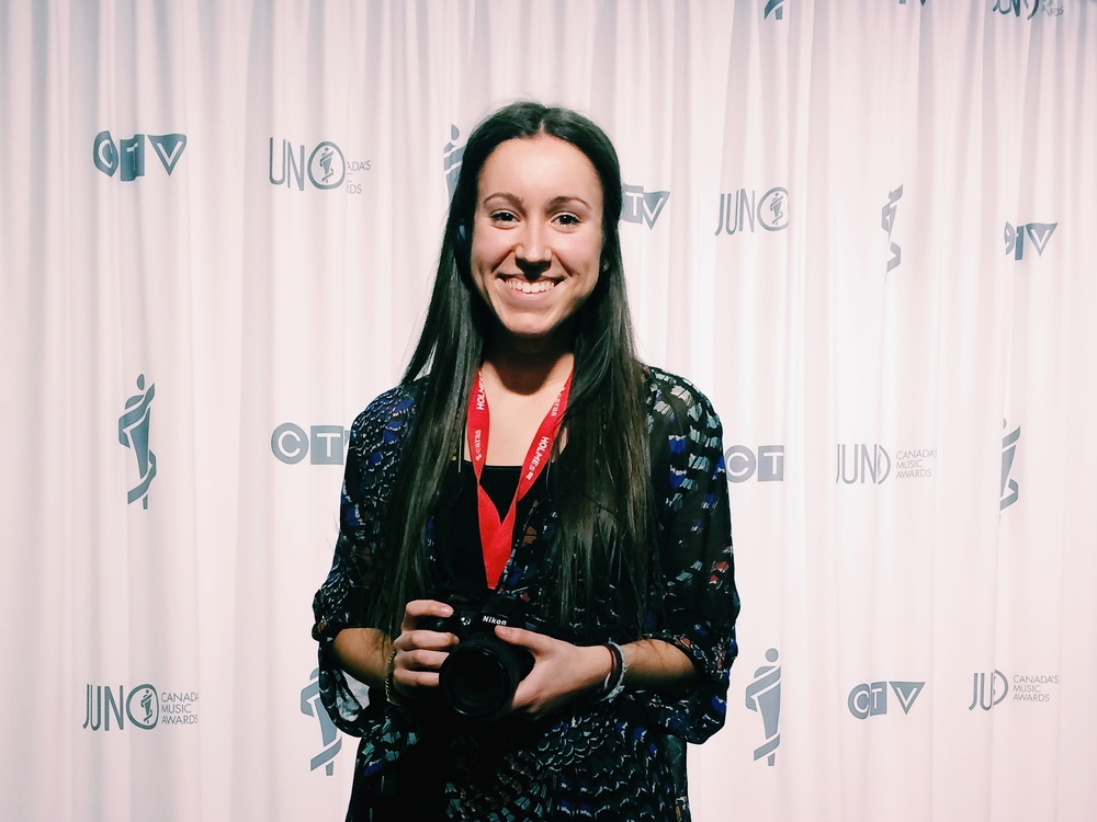 The Crown's Junior Reporter Elise Arsenault was given the opportunity to attend the 2015 JUNO awards which took place in Hamilton, Ontario this past month.
