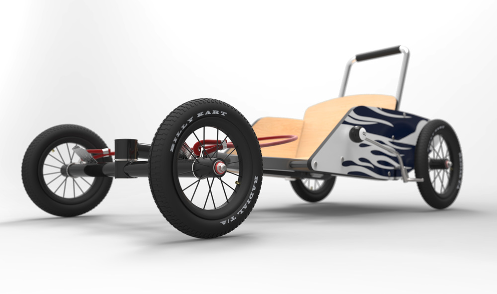 "Winners of the 2012 season of ""The Block"" Andrew and Mike Jones engaged IDA to develop their concept for a simple flat-pack billy cart that is sold throughout Australia."