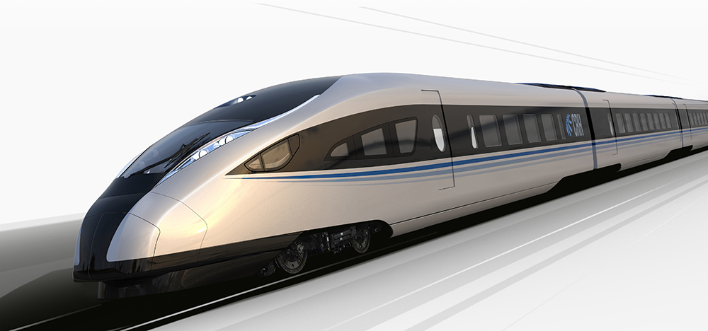 IDA was commissioned in 2013 by CNR CRC to design its first in-house high speed train.  The dramatic exterior styling was developed around the theme of the Pheonix.