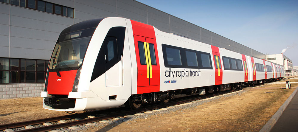 IDA created Exterior Styling, Interior Design and Driver's Cab design for CRRC Changchun Railway Company's Rapid Transit A-Car EMU.
