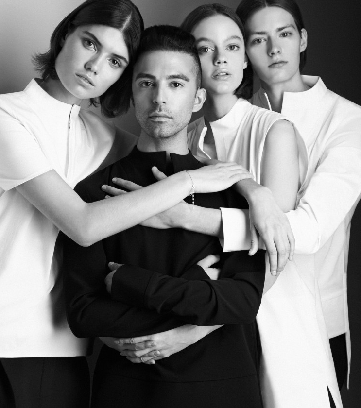 SAAD & his Muses Photographed by Rad Hourani