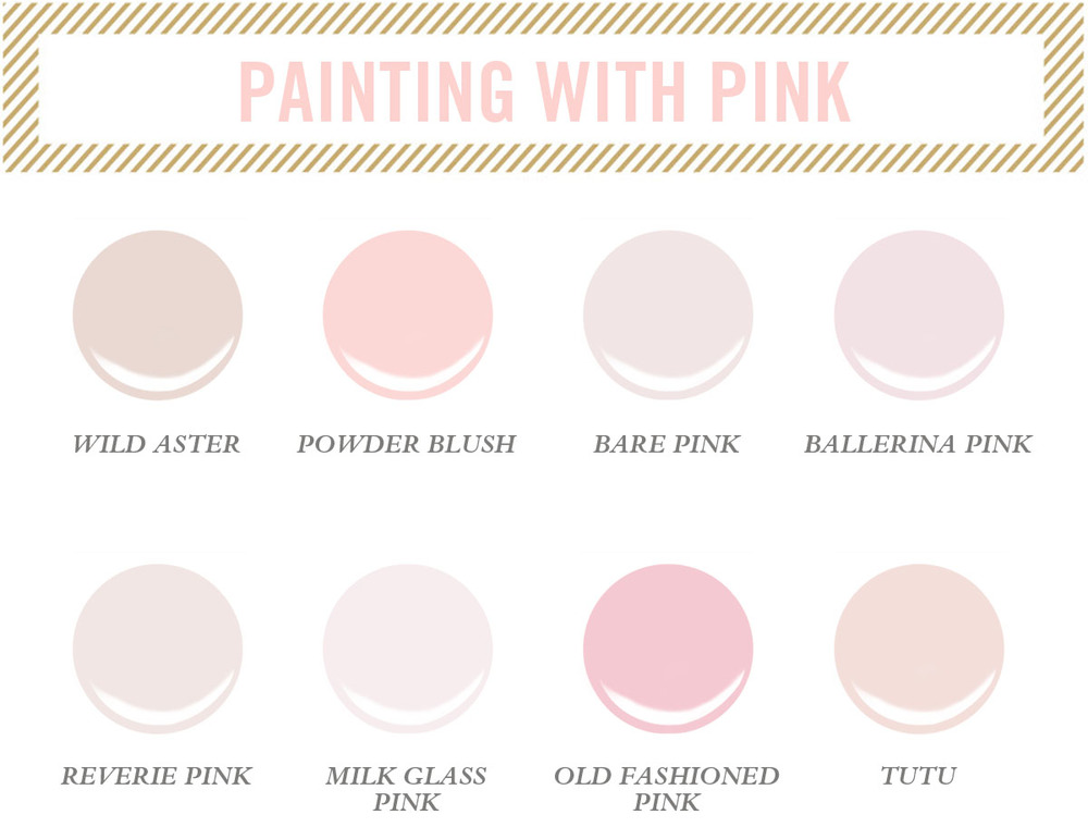 Ballet Pink Paint Color