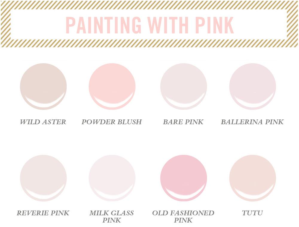 Pink Paint Colors : Pink paint.jpg