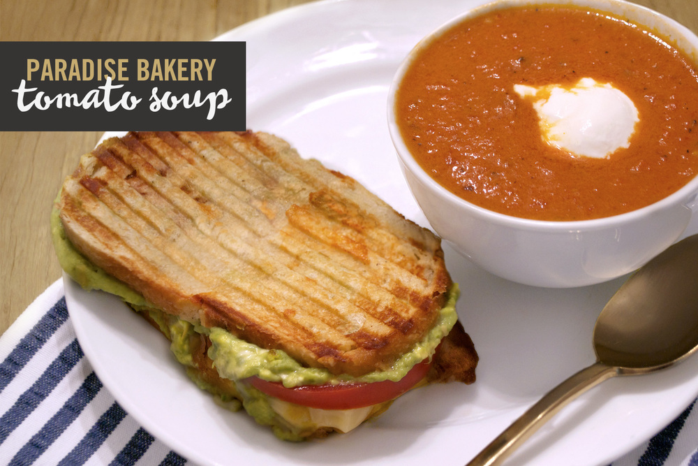 gourmet grilled cheese amp tomato soup � west coast capri
