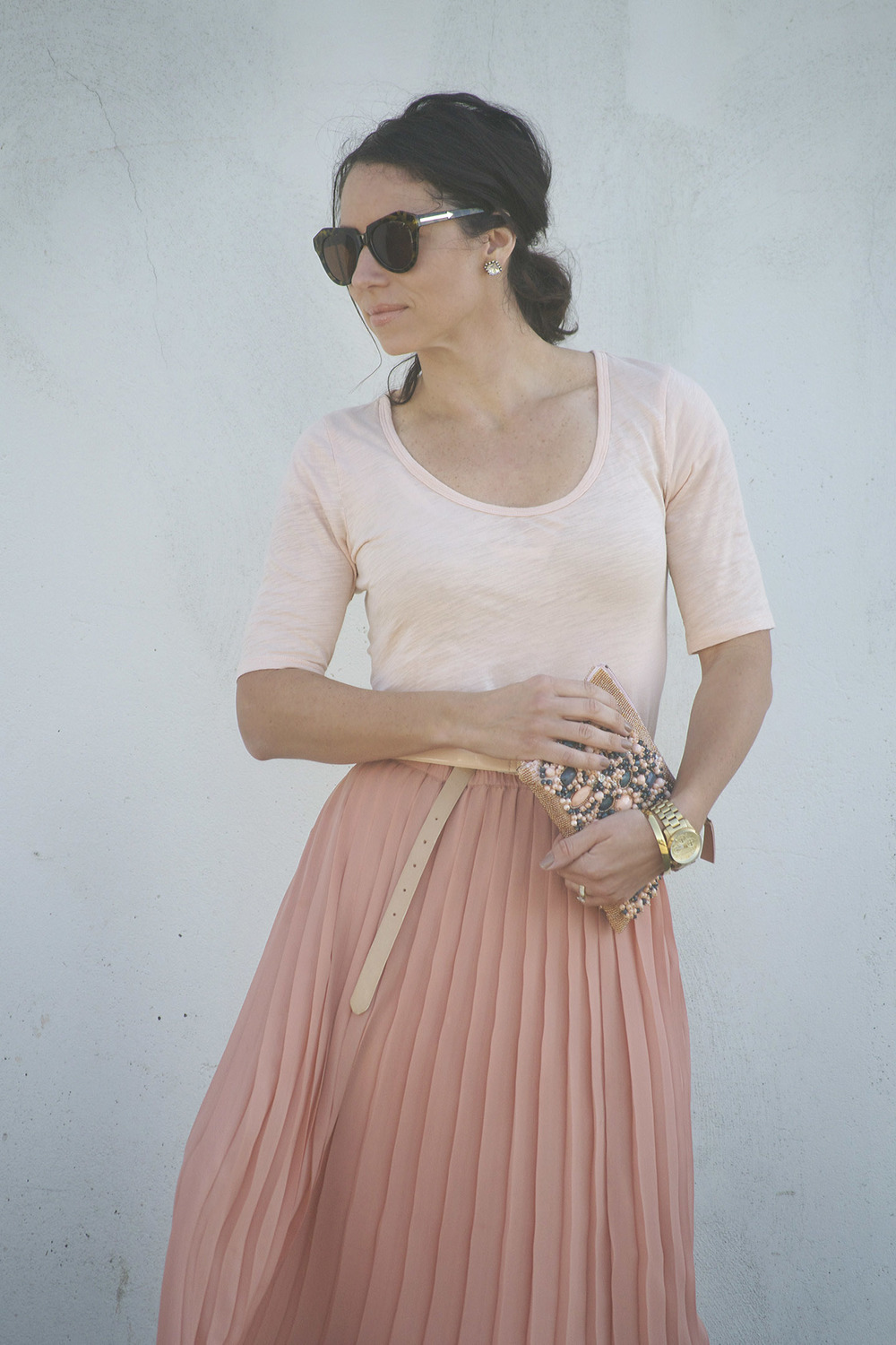 Pink Skirt West Coast Capri