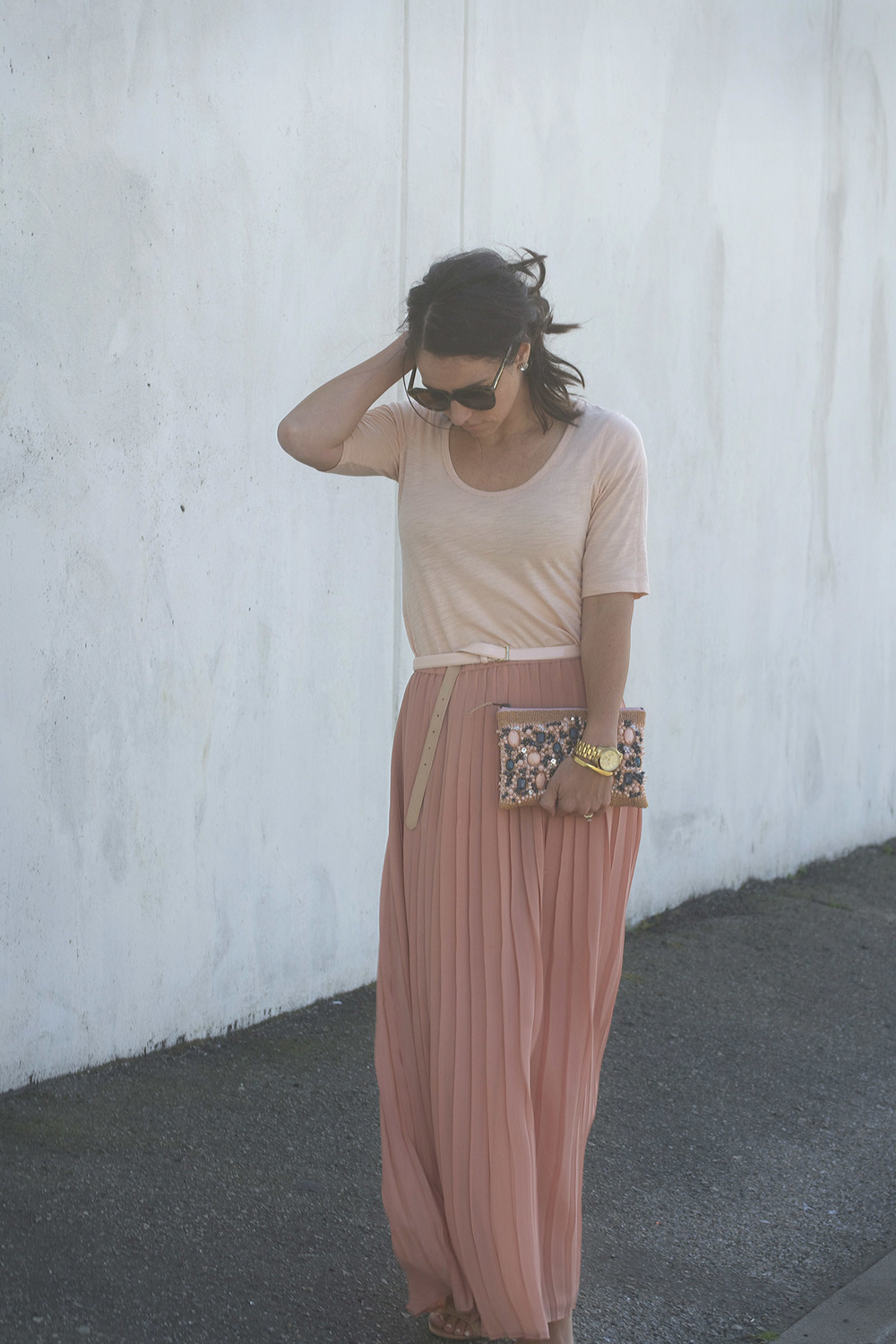 Pleated Skirt West Coast Capri