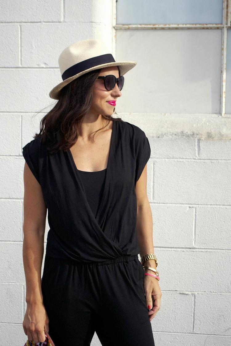 splendid black jumpsuit