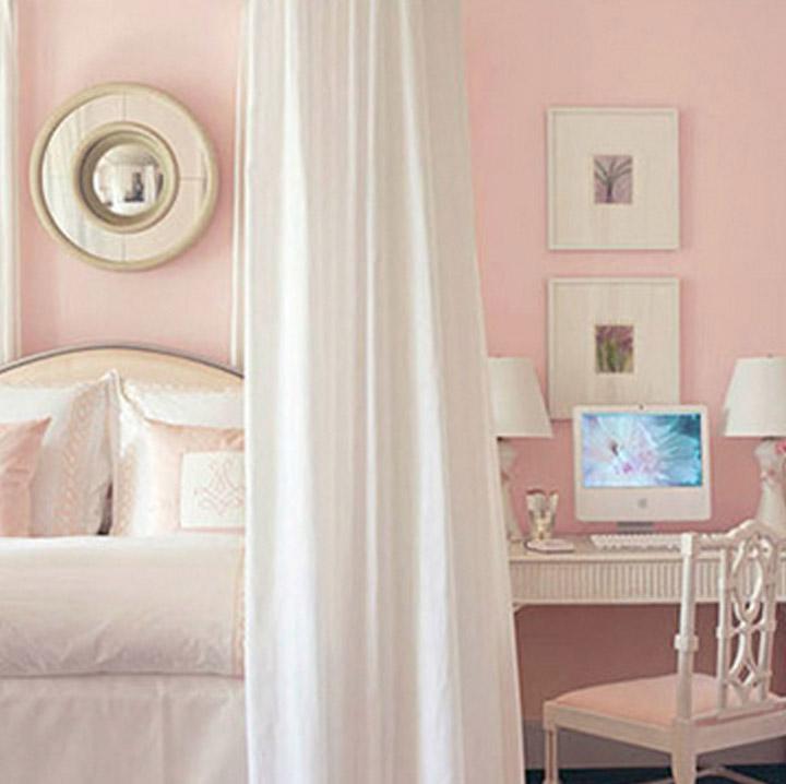 Perfectly pink design west coast capri for Benjamin moore pristine
