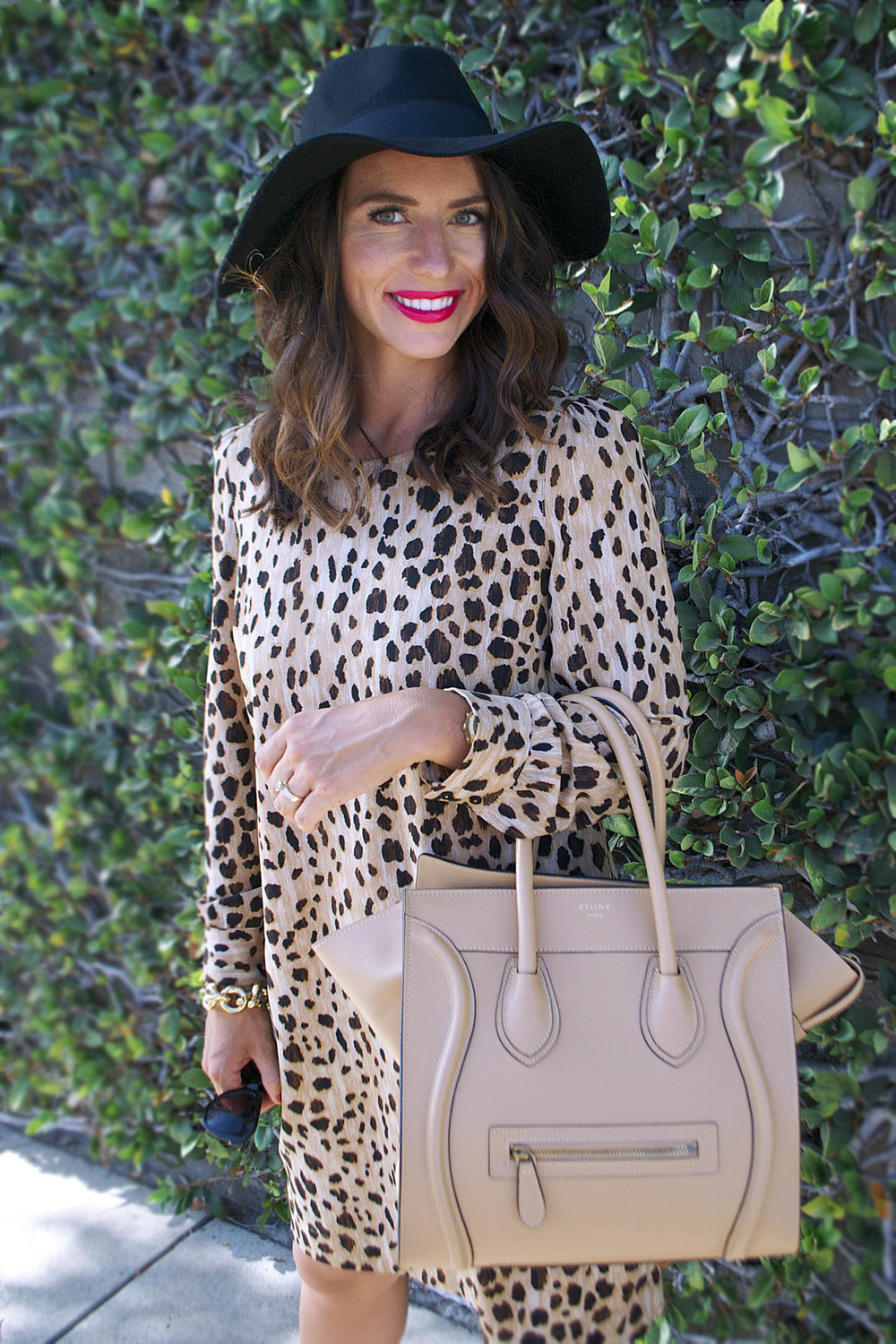 leopard dress fall fashion