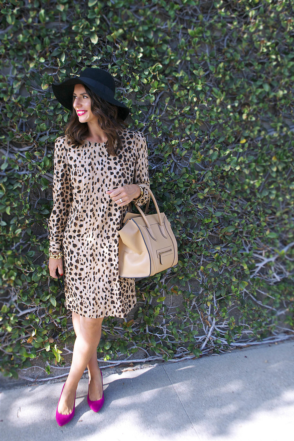 leopard dress for fall