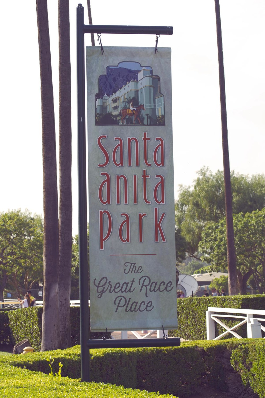 Santa Anita Horse Race