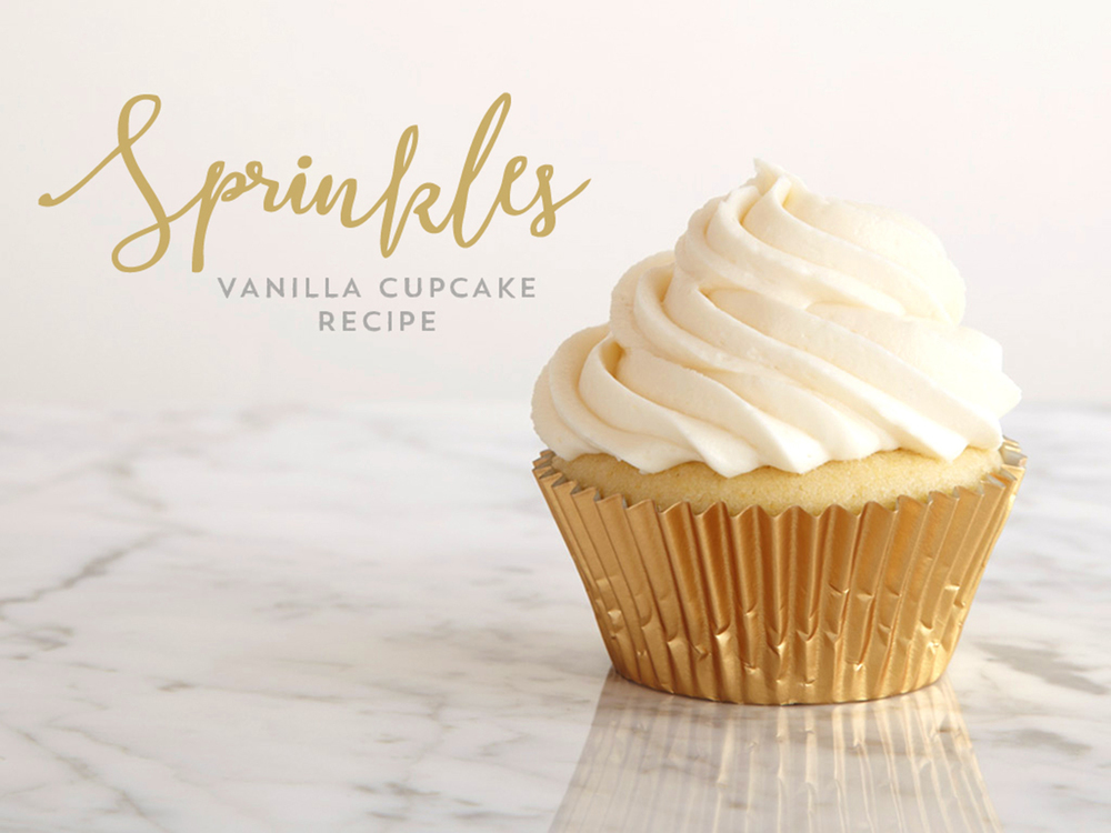 Vanilla Cupcake Recipe with Frosting