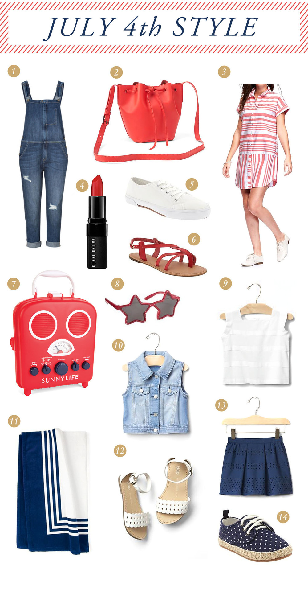 fourth of july style inspiration