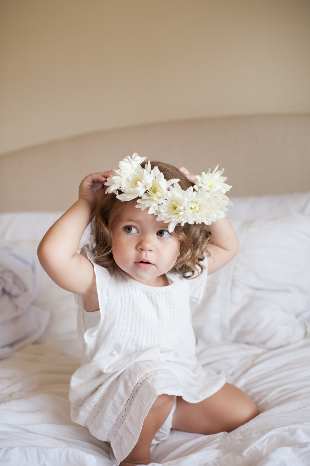 little girl flower crown