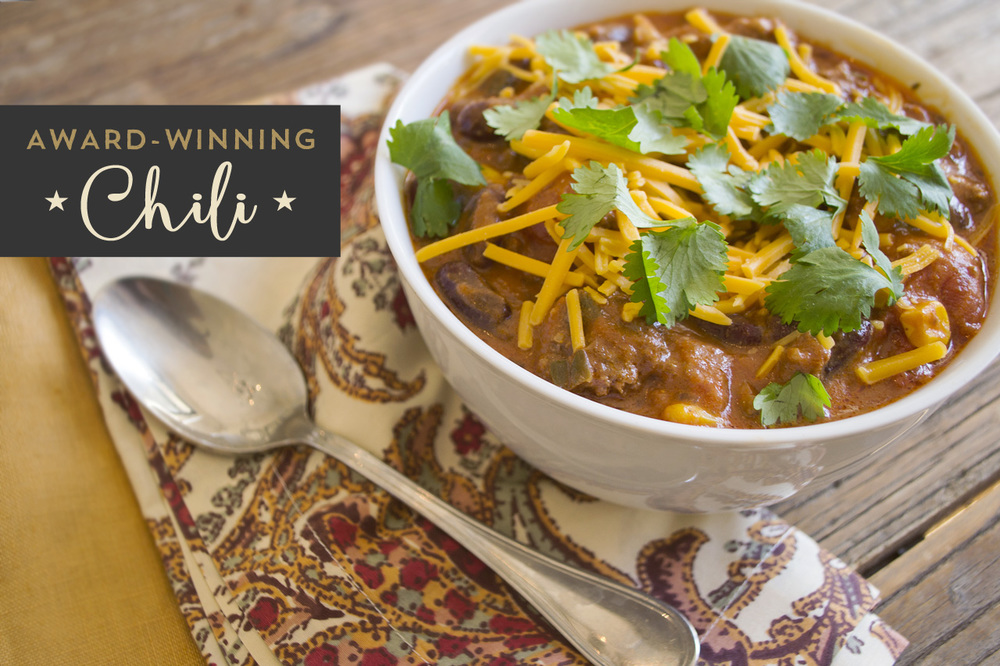 Best award-winning chili recipe