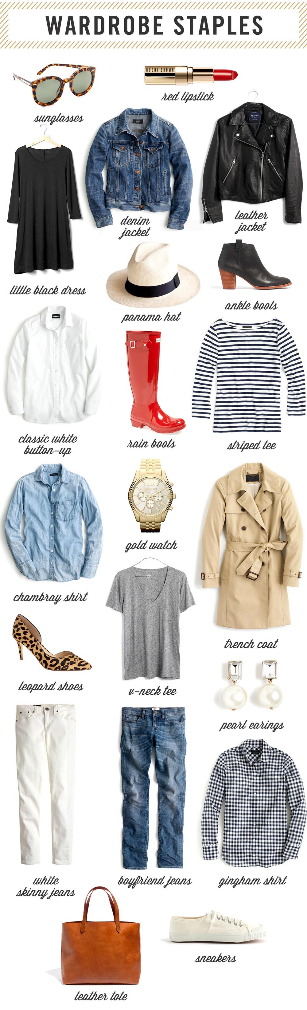 9316c9af16 Wardrobe Staples Every Woman Needs — West Coast Capri