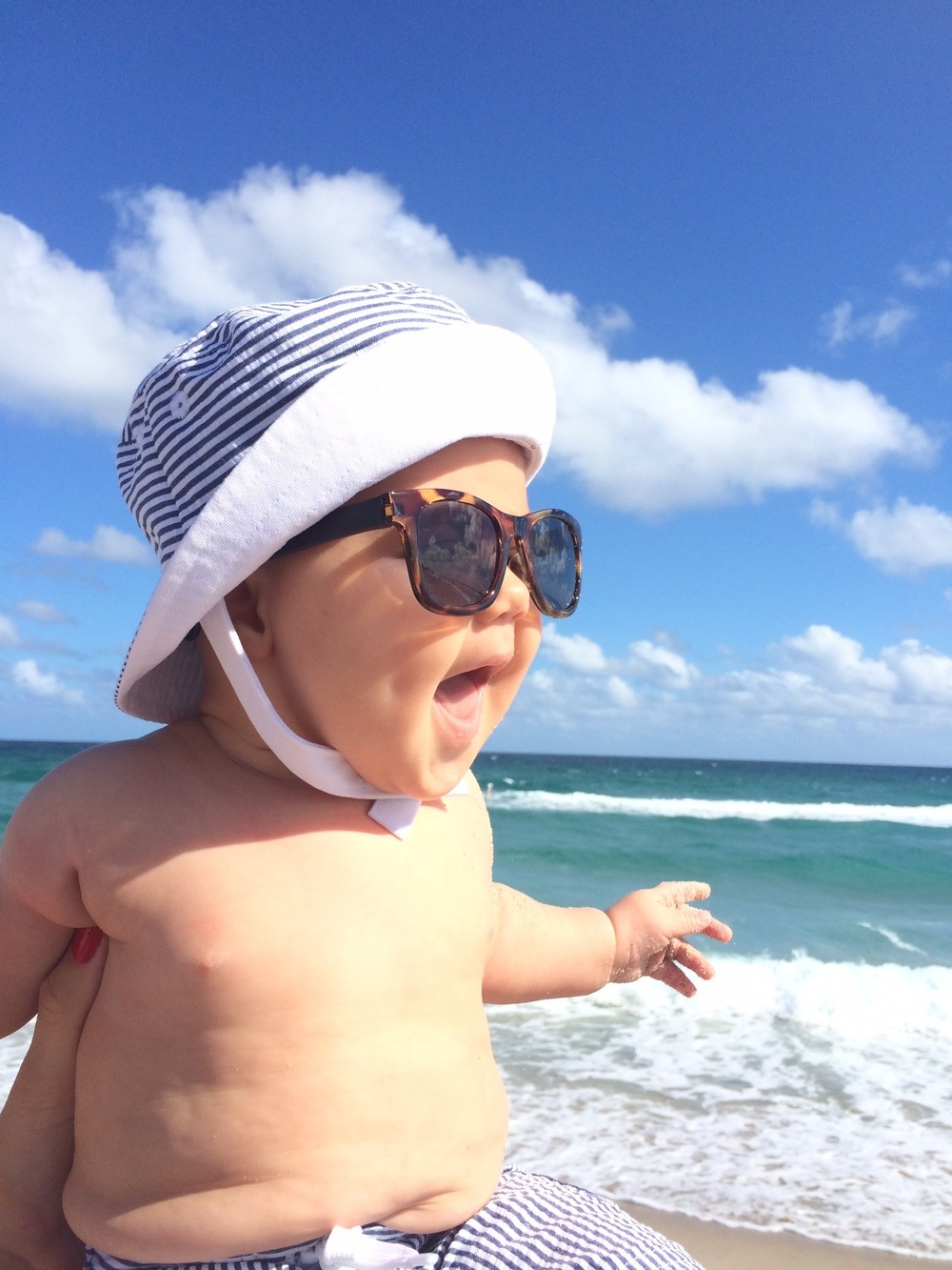 baby boy beach style