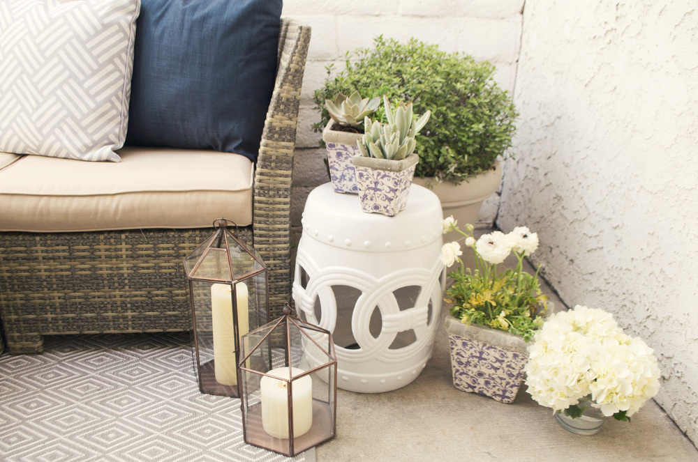 outdoor patio decorations
