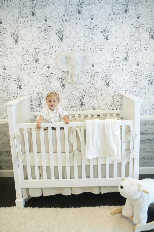 Baby Boy Nursery Room Design West Coast Capri