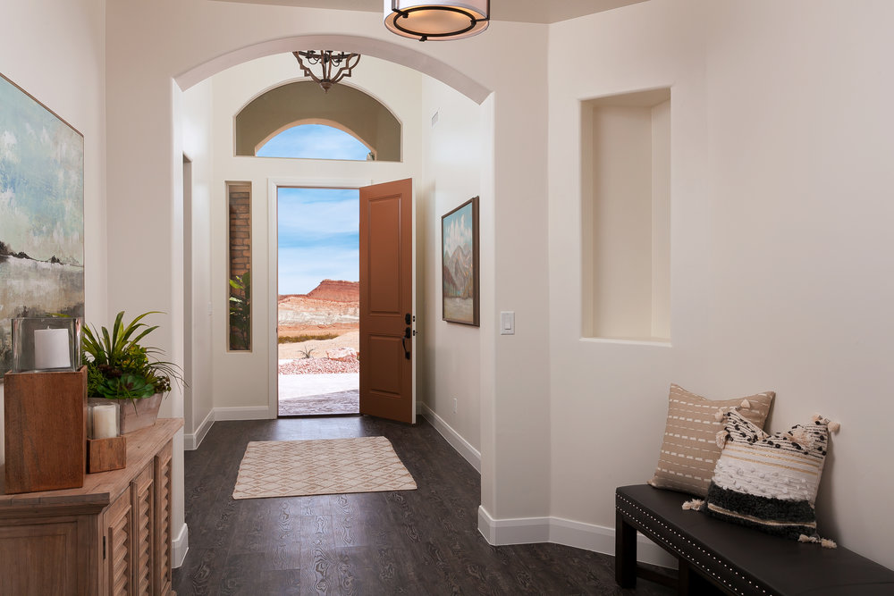 home entryway design
