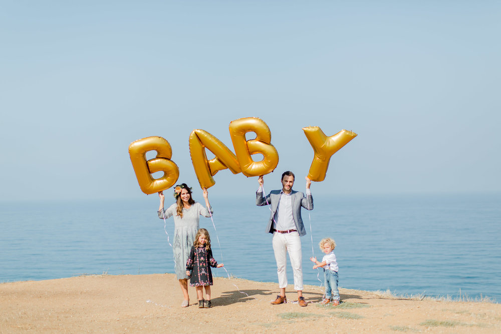 family baby announcement