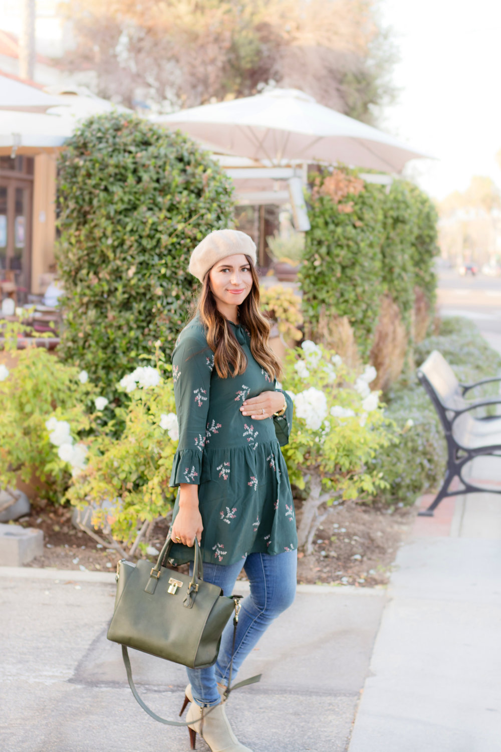 fall maternity fashion