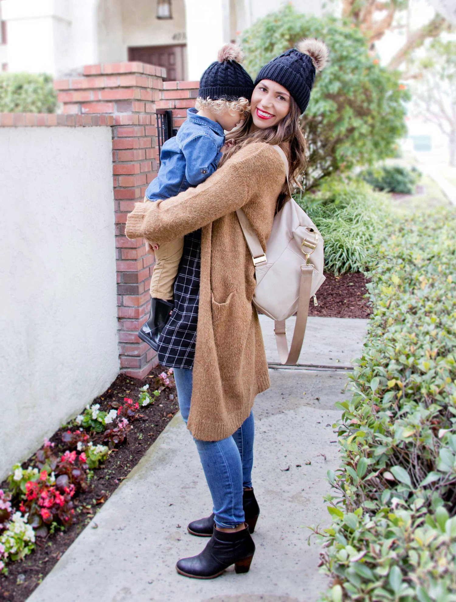 776071128d3 Mommy and Me Matching Beanies — West Coast Capri