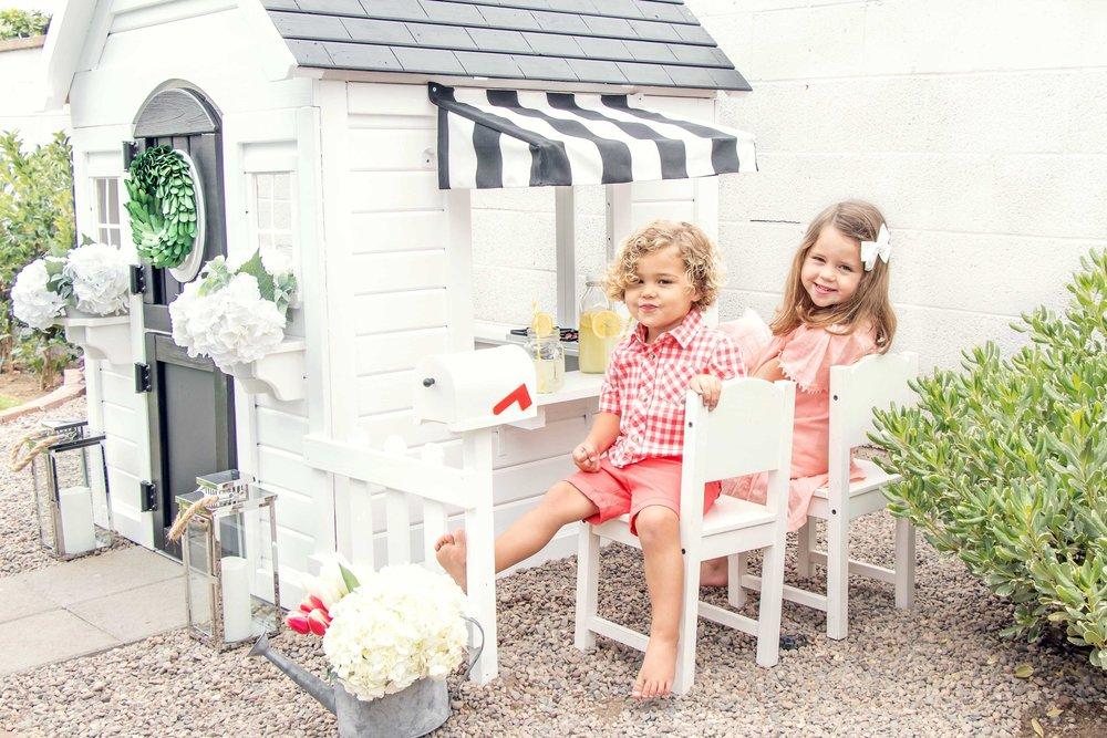 playhouse DIY remodel