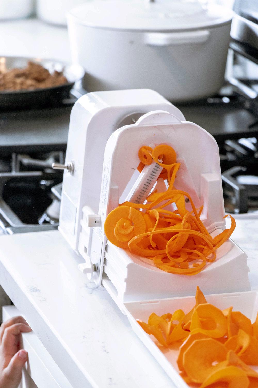 sweet potato recipe with spiralizer