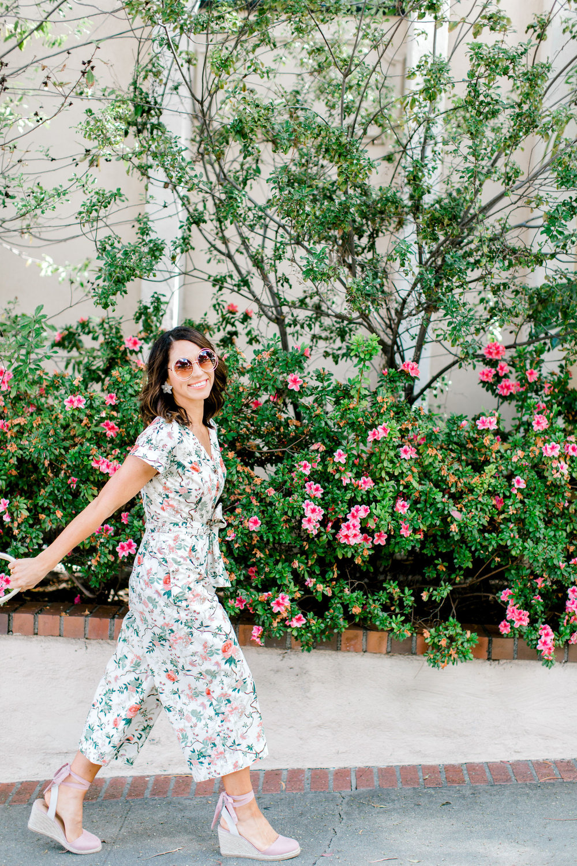 floral jumpsuits for spring