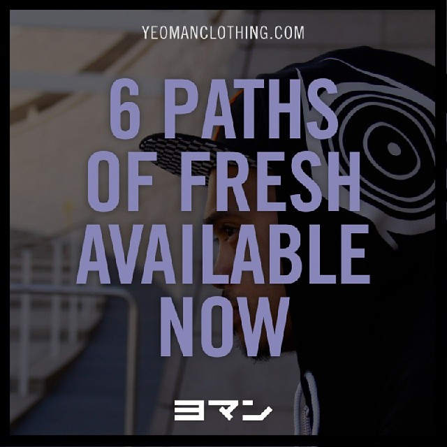 FUTURE MADE ALERT_  6 PATHS of FRESH hoodie is now available_  yeomanclothing.com