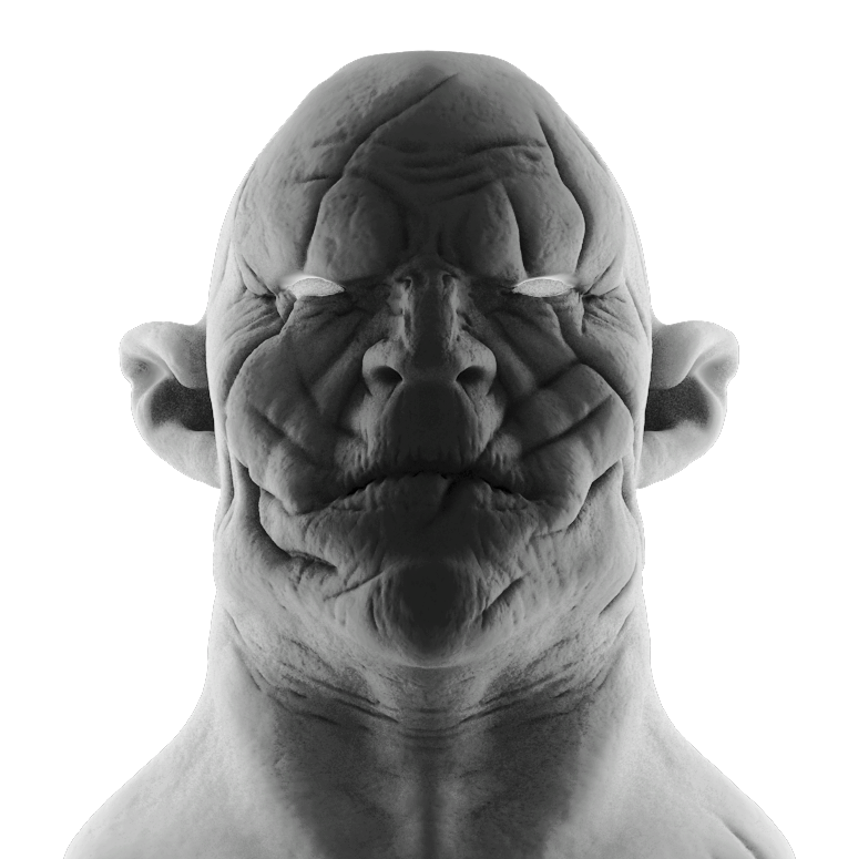 Azog from the Hobbit Quick Sculpting / 2014