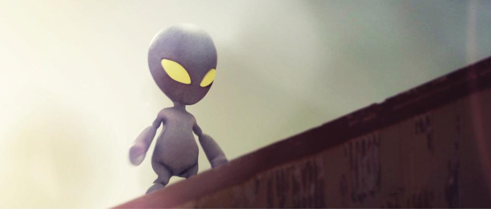 The Alien one Spec Commercial / 2013