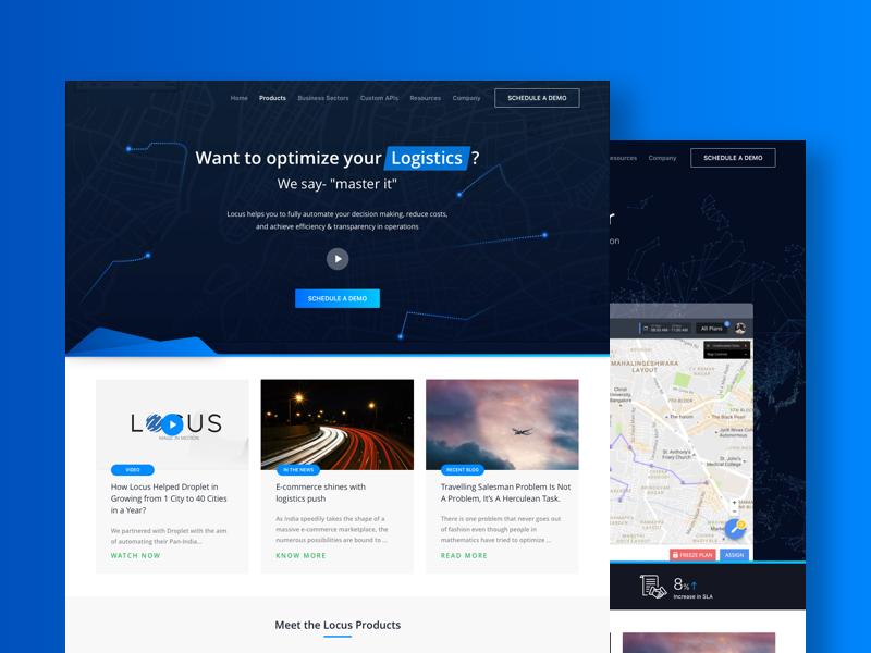 Marketing Website for Locus.sh