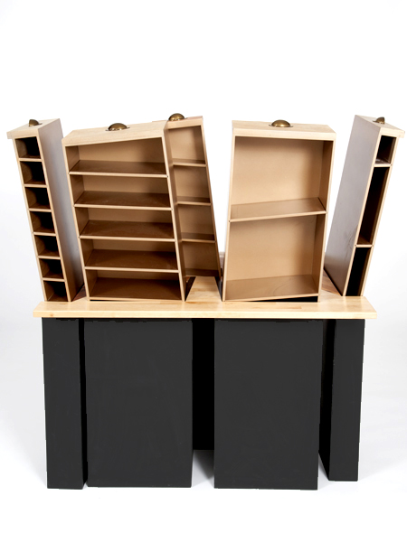 Studio Makecreate - Desk with Vertical Drawers