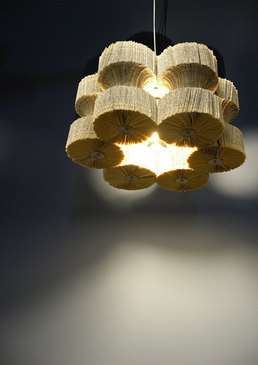 Studio Makecreate - Light Reading - Book Chandelier