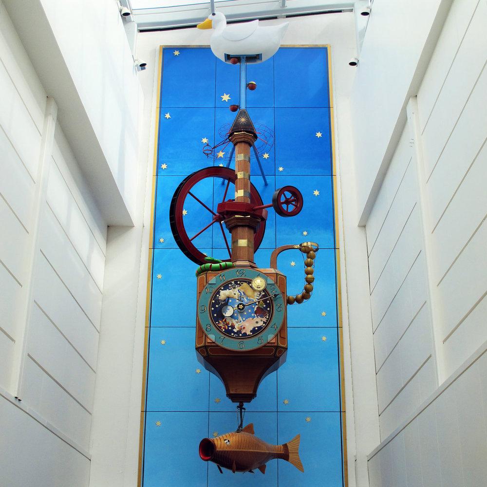 The Wishing Clock in  Regents Arcade, Cheltenham