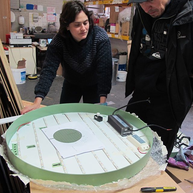 Flashback Friday - LED discussions . . . . #artfabrication #design #fabricator #propbuilding #craftspeople #designfabrication #maker #bespoke #artfabricators  #modelmaking #modelmakers #innovation #lightingdesign #lights