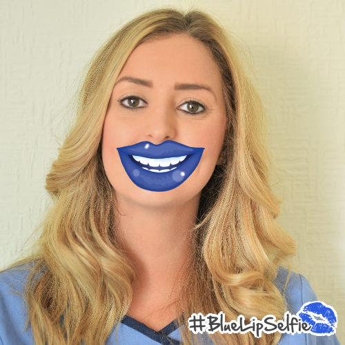 Carly - Blue Lip Selfie.png